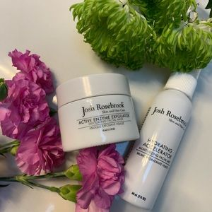 Josh Rosebrook Active Enzyme Exfoliator and Mist